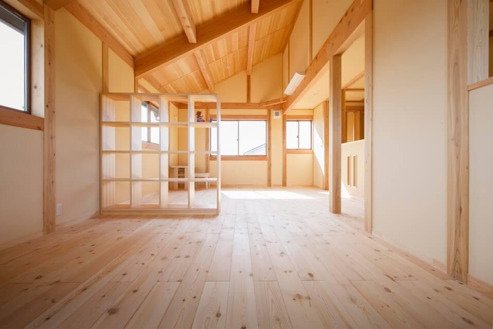子供部屋_茨城県で無垢の家ならベースポイント