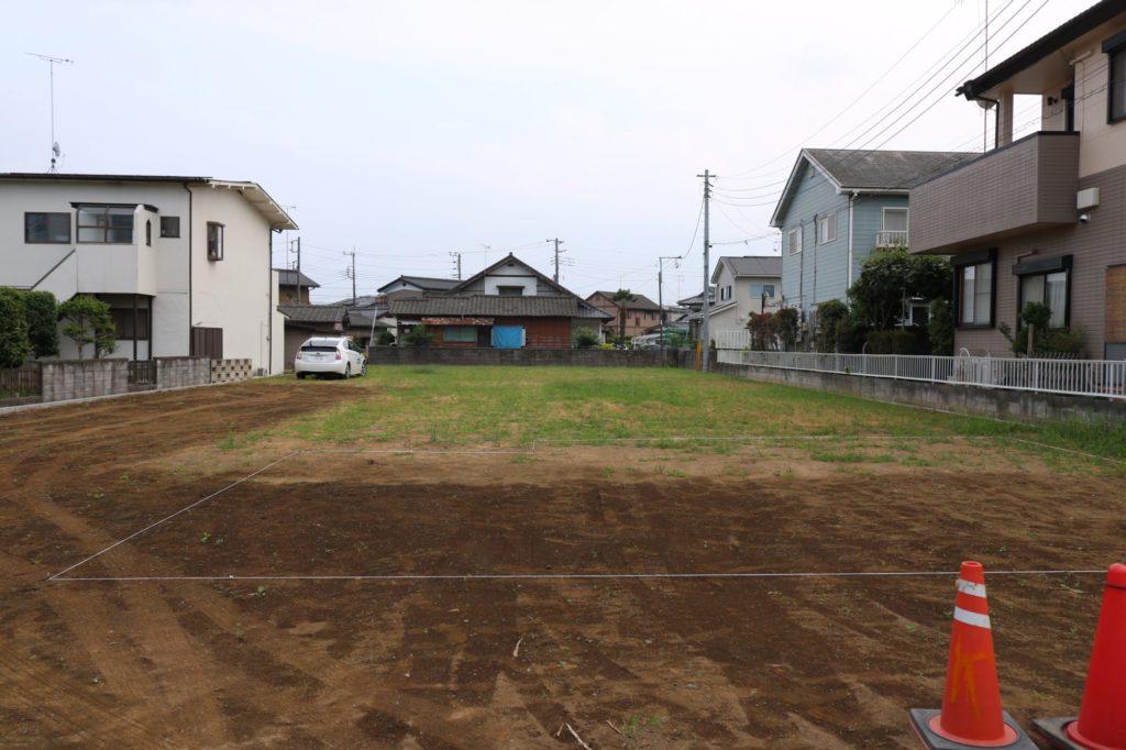 現地調査_守谷市で注文住宅ならベースポイント