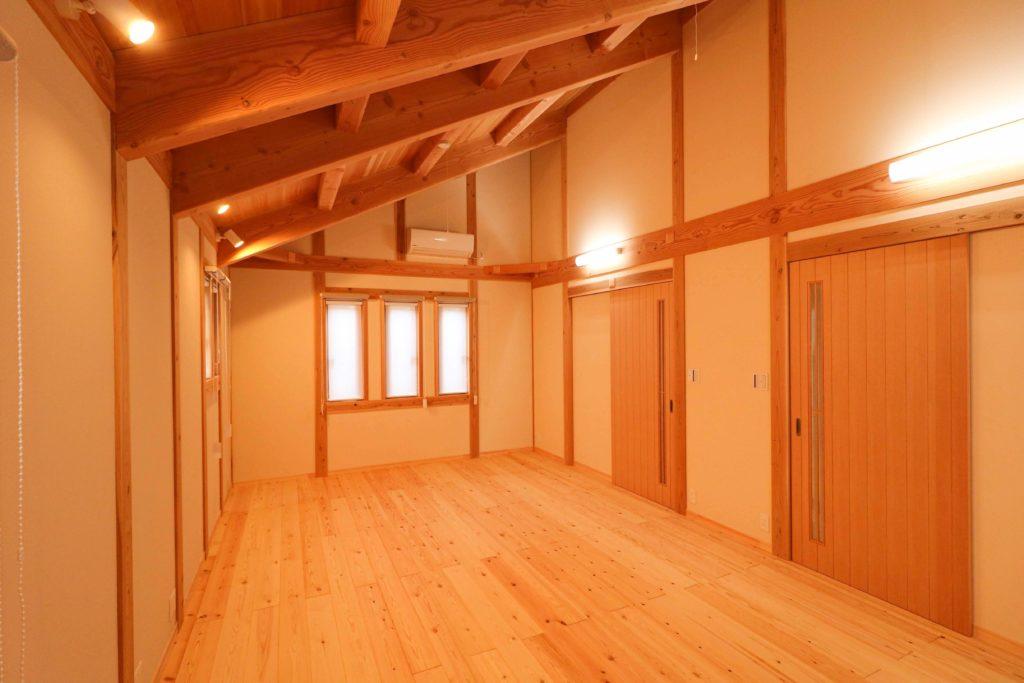 子供部屋_守谷市で木の家ならベースポイント