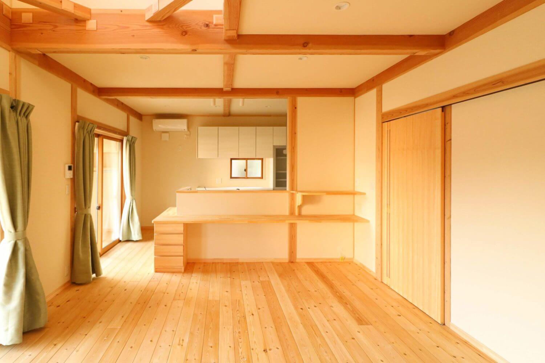 つながる和室の家