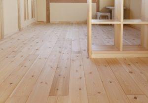 無垢床材_つくばで高性能住宅ならベースポイント