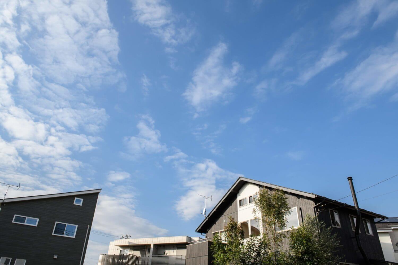 つくばで注文住宅・木の家を建てるベースポイントの外観画像