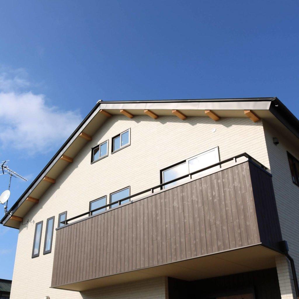 守谷市で木の家を手掛けるベースポイントの外観画像