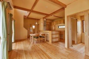つくばで注文住宅・木の家の工務店ならベースポイントのシンプルLDK