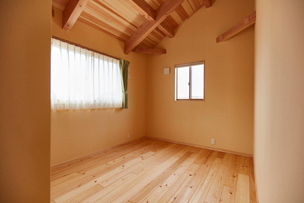 つくばで快適な家で採用した自然素材の施工写真
