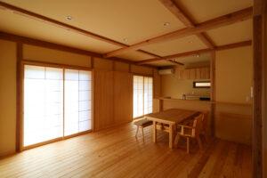 つくばで注文住宅・木の家を建てる工務店ベースポイントの和モダン