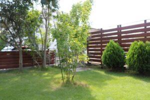 つくばの庭付き一戸建ての木塀