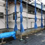 つくばで注文住宅を建てるベースポイントの雨樋工事写真