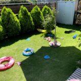 つくばで庭付き一戸建てを建てるベースポイントのお庭写真
