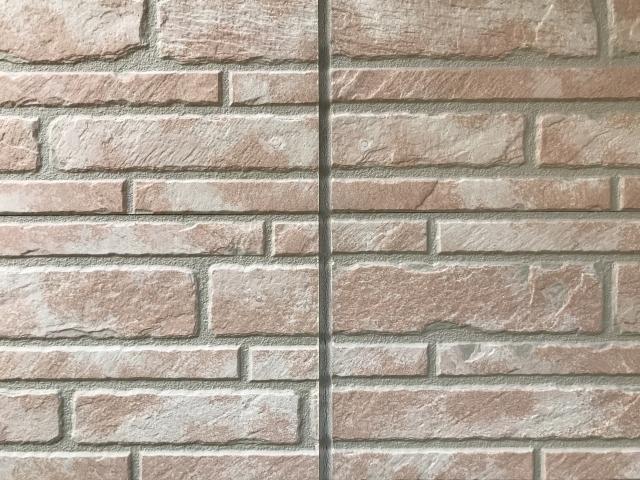 つくばで塗り壁の家を建てるベースポイントのシーリング写真