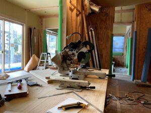 つくばで丁寧な家づくりをしている大工さんの道具