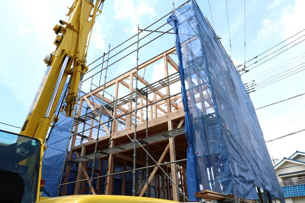 茨城県で無垢の家を建てるベースポイントの構造写真