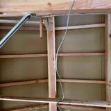屋根断熱の通気層工事