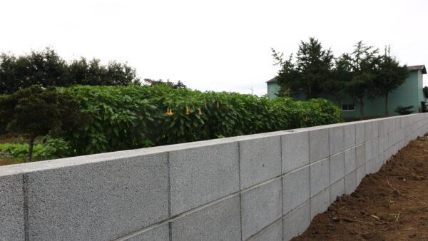 茨城県の注文住宅専門店ベースポイントのブロック工事事例