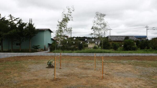 茨城県の木の家専門店ベースポイントの地鎮祭写真